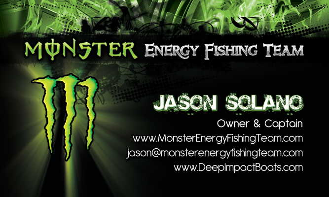 Graphic design company fl business cards flyers postcards brochures monster fishing team business card designer colourmoves