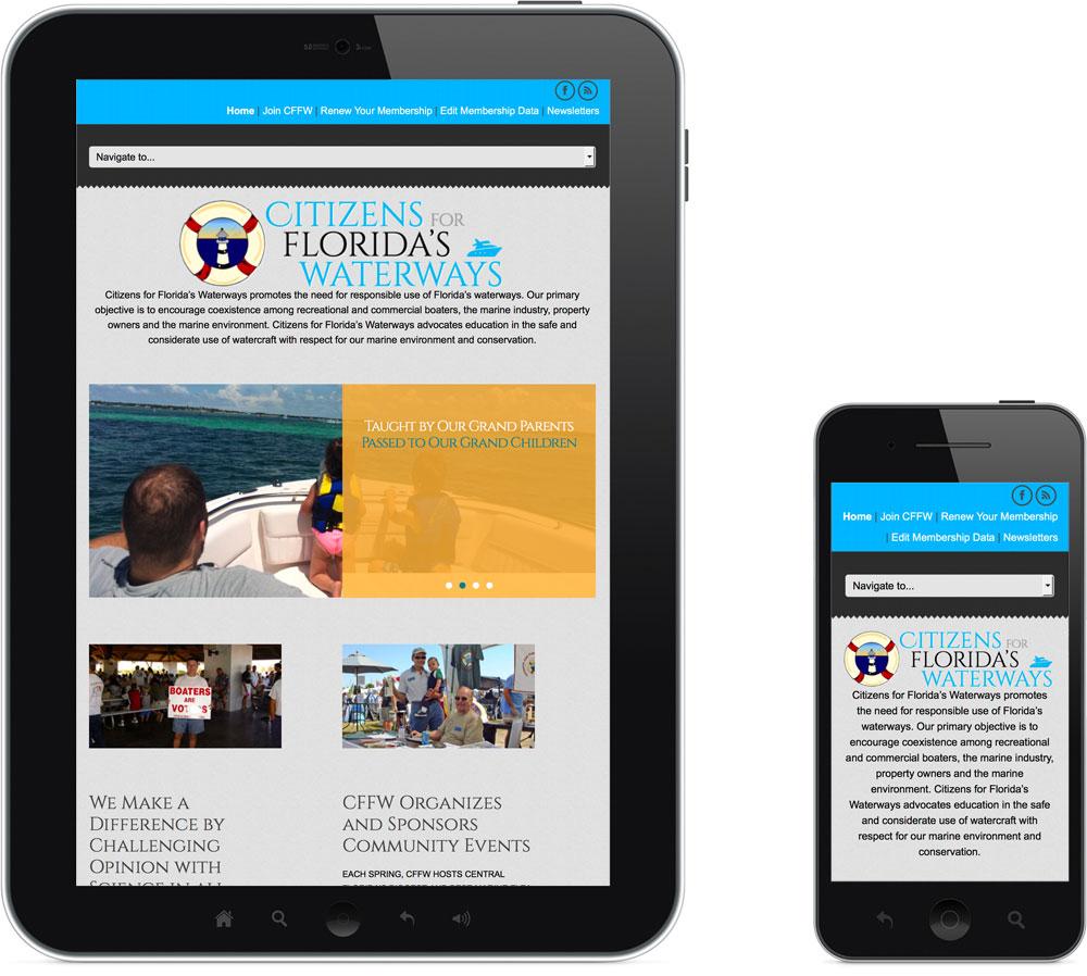 Brevard Florida Mobile Website CFFW