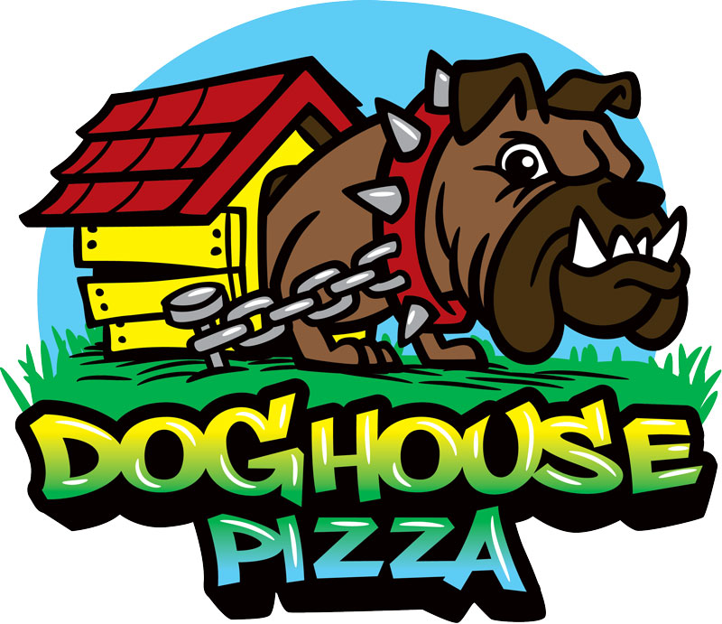 Doghouse Pizza Melbourne FL Logo Design