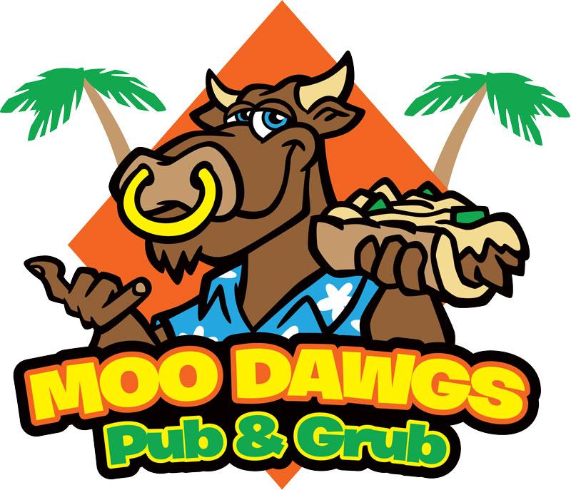 Logo design Brevard County FL - Moo Dawgs