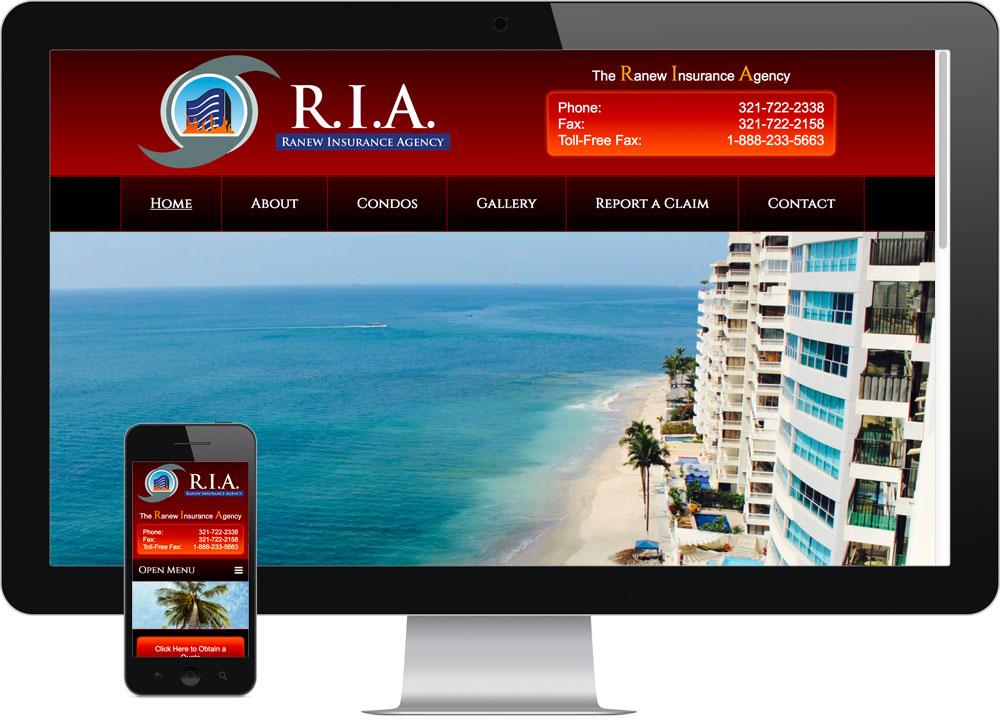 Ranew Insurance Best Web Design Company